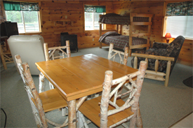We have newly renovated deluxe rental cabins for your Upper Peninsula Vacation.  These cabins are goreous and echo the beauty and nature of the Hiawatha National Forests that surround the Jack Pine Lodge property.  We also offer standard rental cabins.